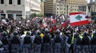 إستمرار الإحتجاجات في لبنان ودخولها شهرها الثاني