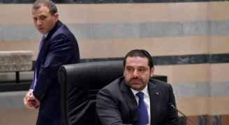 سجال حاد بين الحريري وباسيل بشأن تسمية مرشحي الحكومة