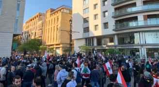 المحتجون في لبنان يحاولون منع انعقاد جلسة للبرلمان - صور