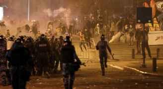 لبنان.. مواجهات بين متظاهرين وقوى الأمن في بيروت