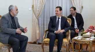 سوريا تدين اغتيال قاسم سليماني