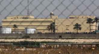 انتشار أمني حول السفارة الأمريكية في بغداد بعد سقوط قذيفتين