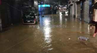 شاهد ماذا قال أمين عمان عن سبب ارتفاع منسوب المياه في العاصمة؟ (فيديو)