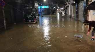الدفاع المدني لرؤيا: لا إصابات نتيجة ارتفاع منسوب المياه في وسط البلد