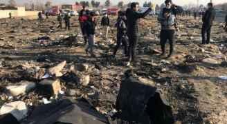 """أوكرانيا تكشف """"مبدئيا"""" سبب تحطم طائرتها فوق إيران.. فيديو"""