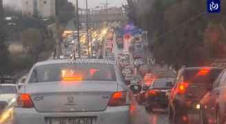 أزمات سير  في معظم شوارع العاصمة عمّان مساء الخميس.. خرائط وفيديو