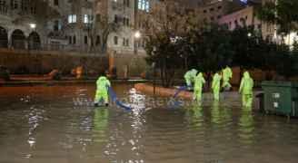 العاصمة عمّان تسجل أعلى كمية هطول مطري منذ بداية المنخفض الجوي