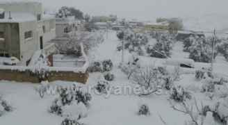 كتلة هوائية قطبية تندفع إلى  الأردن الثلاثاء وتجلب معها الثلوج (طقس العرب)