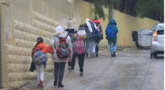 هام من وزارة التربية حول تعطيل دوام المدارس خلال المنخفض