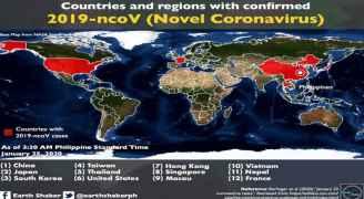 تعرف على عدد الدول التي فتك بها فيروس كورونا الجديد حتى الآن