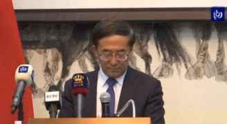 """السفير الصيني في عمّان: """"نخوض معركة ضد وباء كورونا"""".. فيديو"""