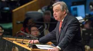 غوتيريش: الامم المتحدة حامية للقانون الدولي في مسألة الشرق الأوسط