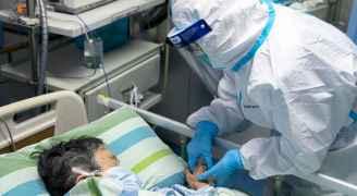 """""""كورونا"""" يصيب 40 عاملاً داخل مستشفى واحد في ووهان الصينية"""