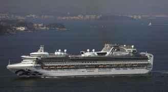 44 اصابة جديدة بفيروس كورونا على متن السفينة اليابانية