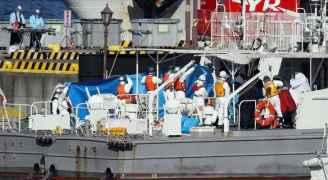 """اليابان تعتذر بعد خطأ """"سفينة كورونا"""".. تفاصيل"""