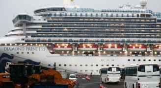 """اليابان تعلن رابع وفاة من """"السفينة الموبوءة"""" بفيروس كورونا"""