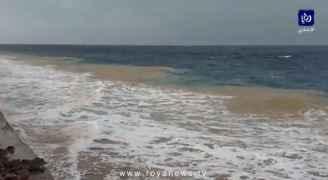 ارتفاع قياسي في الأمواج و رياح شديدة و تنبيه من الاقتراب و ارتياد البحر في العقبة.. فيديو