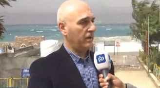 """محافظ العقبة لـ""""رؤيا"""": ايقاف الحركة الملاحية واغلاق الشواطئ من أجل سلامة المواطنين.. فيديو"""