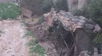 """مياه الأمطار تداهم 8 منازل في لواء """"هاشمية الزرقاء"""""""