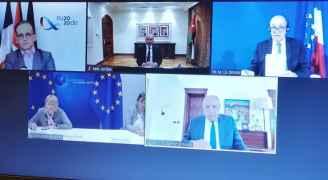 وزراء خارجية الأردن ومصر وفرنسا وألمانيا: خطة الضم سيكون لها عواقب خطيرة