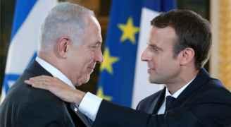 الرئيس الفرنسي يطلب من تل أبيب التخلي عن أي خطط لضم أراض فلسطينية