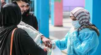 تسجيل مئات الاصابات الجديدة بكورونا في فلسطين
