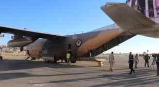 الأردن يرسل طائرة الإغاثة الرابعة لمساندة بيروت.. فيديو