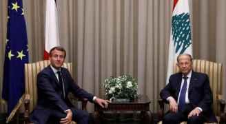 ماكرون يصل إلى بيروت في زيارته الثانية منذ انفجار المرفأ
