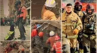 لبنانيون: الفريق التشيلي يبحث عن قلوب تنبض تحت الأنقاض والمسؤولون نائمون - فيديو