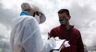 أكثر من مليون إصابة بكورونا في كولومبيا