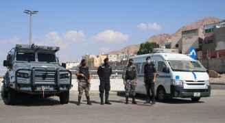 الأمن يعيد انتشار قواته بعد الانتخابات لفرض الحظر الشامل - فيديو وصور