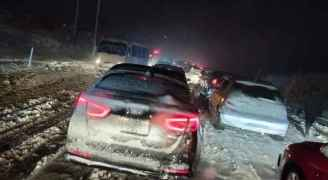 """طقس العرب لـ """"رؤيا"""": انتظام تساقط الثلوج خلال الساعات القادمة وحتى صباح الخميس"""
