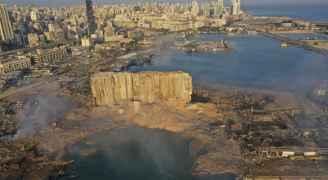 خبراء: صوامع الحبوب المدمّرة في مرفأ بيروت آيلة للسقوط ويجب هدمها