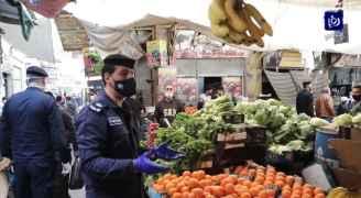 إغلاق سوق الخضار بوسط البلد بسبب عدم التزام المواطنين في مثل هذا اليوم قبل عام.. فيديو