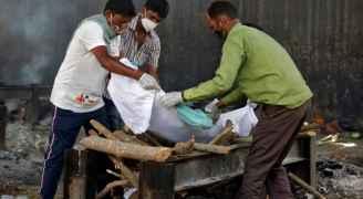 الهند تسجل أكثر من ٤ آلاف وفاة جديدة بفيروس كورونا