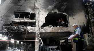 الكشف عن الأضرار الأولية التي تكبدها الاحتلال الإسرائيلي في العدوان على غزة