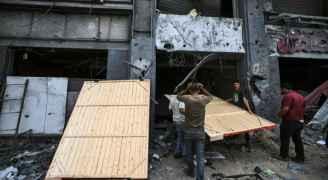 الهدوء يعم غزة في اليوم الثاني من الهدنة