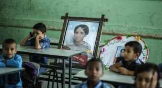 """أطفال في قطاع غزة ضحية الصدمات النفسية جراء الحرب: """"خائفون من الموت"""""""