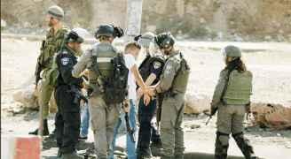 الاحتلال الإسرائيلي اعتقل ٣١٠٠ فلسطيني في أيار ٢٠٢١