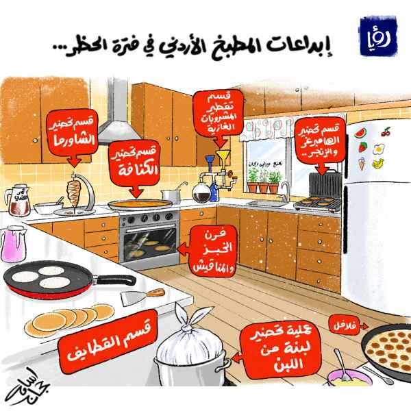 ابداعات المطبخ الأردني