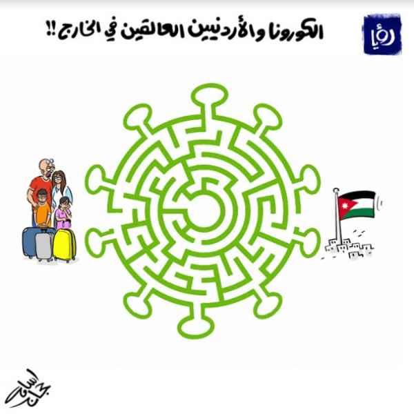 كورونا والاردنيين العالقين في الخارج