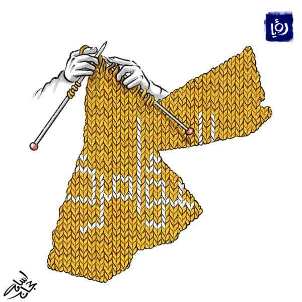 """المؤامرة - كاريكاتير أسامة حجاج لـ """"رؤيا"""
