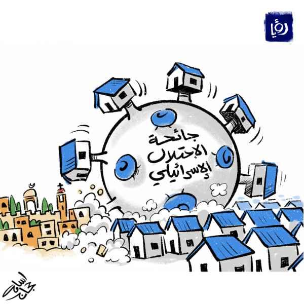 جائحة الاحتلال الاسرائيلي