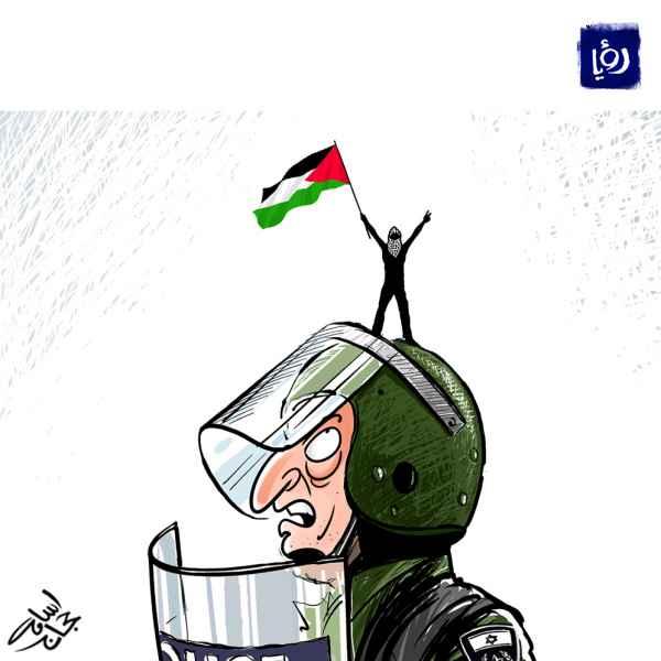 كاريكاتير - فلسطين حرة