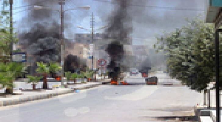 تجدد اعمال الشغب في محافظة معان