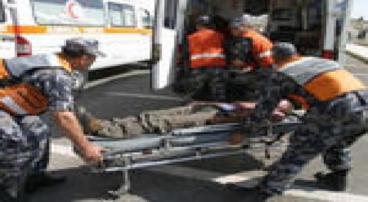 وفاة شخص وإصابة آخر اثر انهيار أتربة عليهما في العاصمة