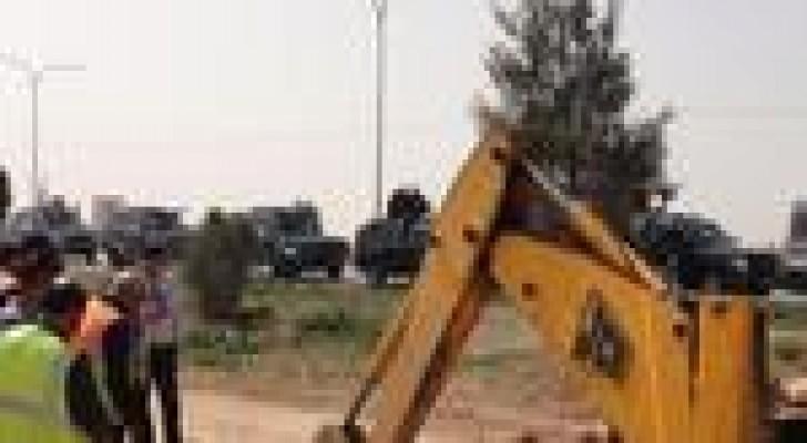 ضبط اعتداءات على اراضي خزينة الدولة في منطقة الاغوار الجنوبية