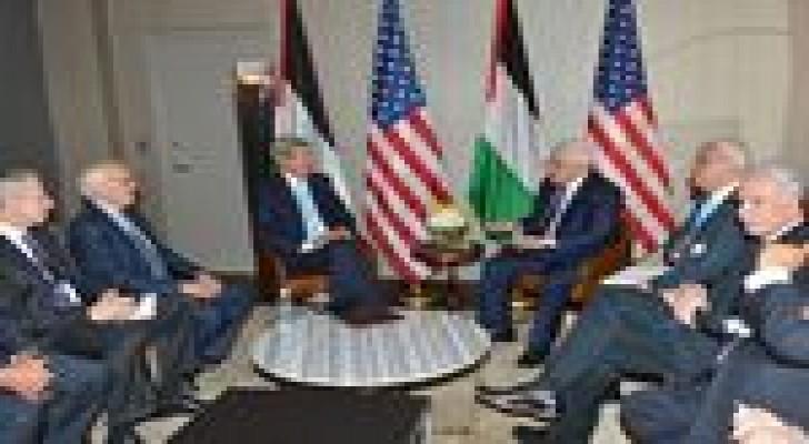 كيري يدعو لتقييم عملية السلام بين الفلسطينيين واسرائيل