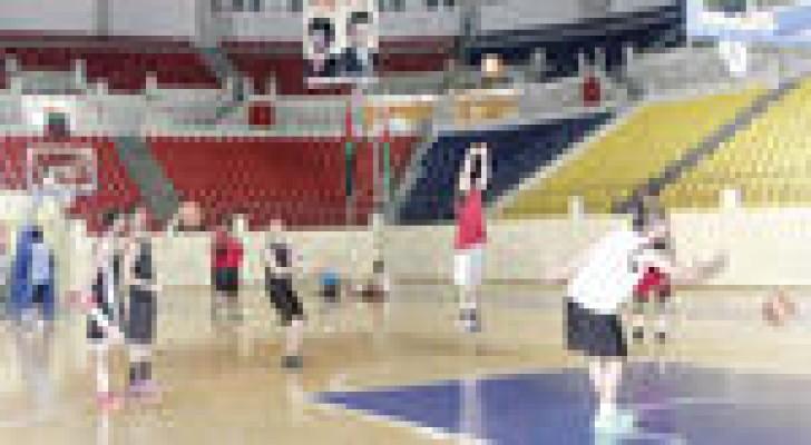 المنتخب الوطني لكرة السلة يكثف تدريباته لغرب آسيا