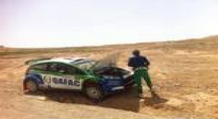 العطية ما زال متصدراً والاردني ابو سمرة يستعيد المركز الثالث في رالي الاردن